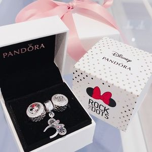 Pandora Disney Minnie Mouse Rock The Dots Gift Set